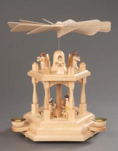 Pyramide natur 1-stöckig Christi Geburt