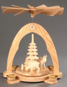 Tischpyramide natur Reifentiere