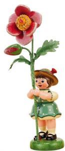 Blumenmädchen mit Heckenrose 11 cm