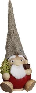 Kugelräucherfigur Die Waldzwerge - Weihnachtsmann