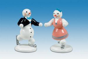 Schneemann - Eiskunstlaufpaar