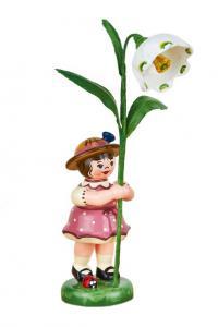 Blumenmädchen mit Märzenbecher 11 cm
