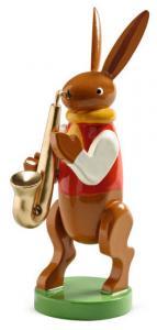 Wendt & Kühn Hasenmusikant mit Saxophon