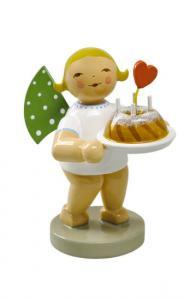Wendt & Kühn Grühnhainicher Engel mit Kuchen und Herz