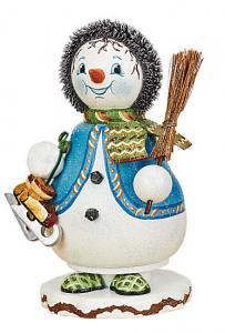 Original Hubrig Räucherwichtel Schneeflöckchens Eiskufen
