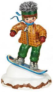 Original Hubrig Winterkinder - Snowboardfahrer