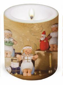 Wendt & Kühn Kerze Margeritenengel