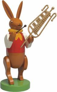 Wendt & Kühn Hasenmusikant mit Glockenspiel
