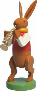 Wendt & Kühn Hasenmusikant mit Trompete