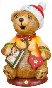 Original Hubrig Räucherwichtel Teddys Weihnachtsgeschichte  2015