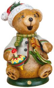 Original Hubrig Räucherwichtel Teddys Schaukelpferd  2015