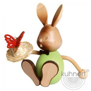 Stupsi Hase mit Schmetterling im Geschenkkarton