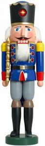 Nussknacker König blau Großfiguren