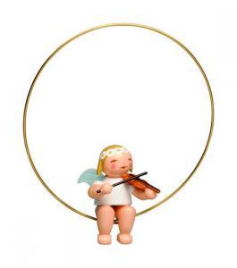 CHRISTBAUMENGEL im Ring, mit Geige