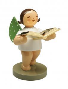 Wendt und Kühn Goldedition Nr. 10 - Vorleser - Engel mit Buch vergoldet