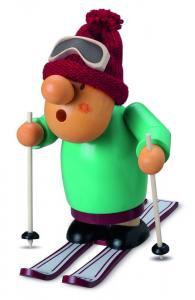 Räuchermann, Müllerchen® auf Ski