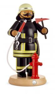 Räuchermann groß Feuerwehrmann