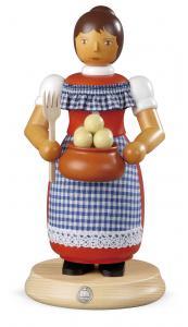 Räuchermann groß Kloßfrau