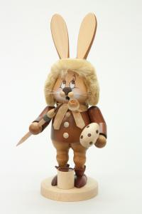 Räuchermann Wichtel Hase