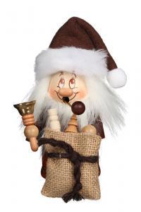 Miniwichtel Weihnachtsmann mit Glocke