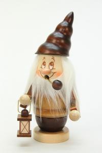 Räuchermann Miniwichtel mit Laterne