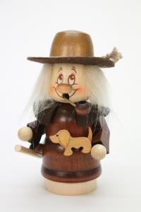 Räuchermann Miniwichtel Jäger