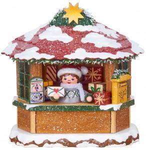 Winterkinder Weihnachtspostamt elektrisch beleuchtet
