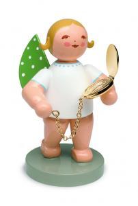 Goldedition Nr.12 -Begleiter - Engel mit Taschenuhr vergoldet