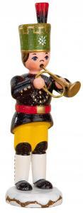 Winterkinder Bergmann mit Trompete