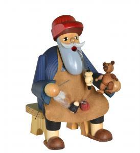 KWO Räuchermann Teddymacher, sitzend