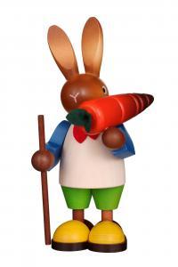 Hasenmann mit Karotte