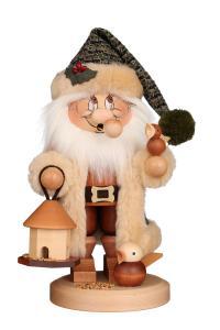 Räuchermann Wichtel Weihnachtsmann Vogelfütterung