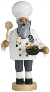KWO Räuchermann Koch mit der Pfanne Die Bärtigen