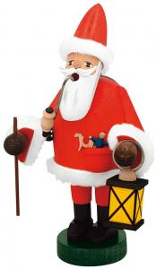 KWO Räuchermann Weihnachtsmann mit Laterne - Die Bärtigen