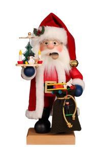 Räuchermann Weihnachtsmann rot NEU 2021
