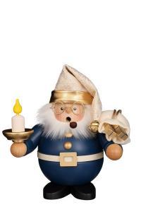 Räuchermann Klein Weihnachtsmann mit Kerze NEU 2021