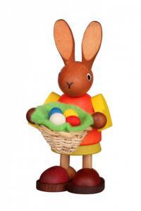 Häsin mit Osterkorb farbig
