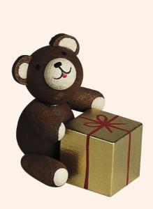 Glücksbärchen mit Geschenk