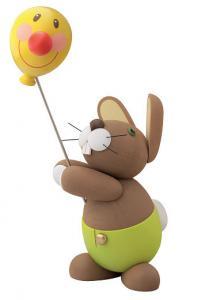 Hase Holger mit Ballon, Serie Hosen-Hasen