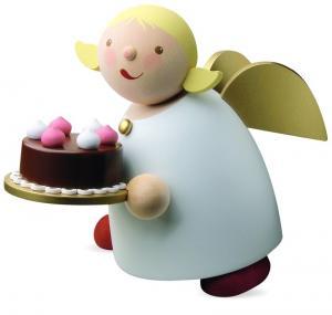 Schutzengel mit Torte