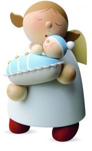 Schutzengel mit Baby - Junge