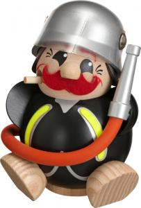 Kugelräucherfigur Lustige Berufe Feuerwehrmann