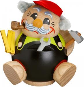 Kugelräucherfigur Lustige Berufe Heimwerker