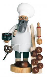KWO Räuchermann Bäcker Die Bärtigen
